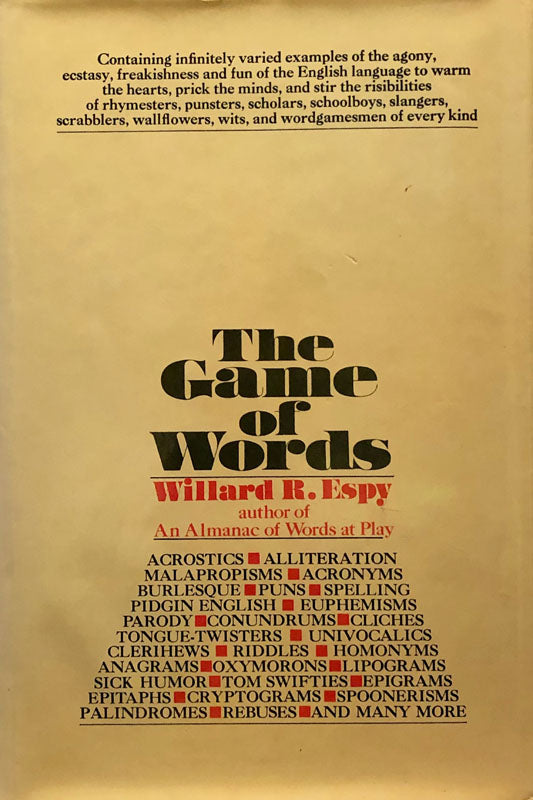 The Game of Words