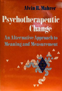 Psychotherapeutic Change