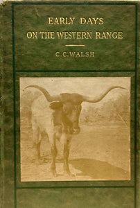 Early Days on the Western Range