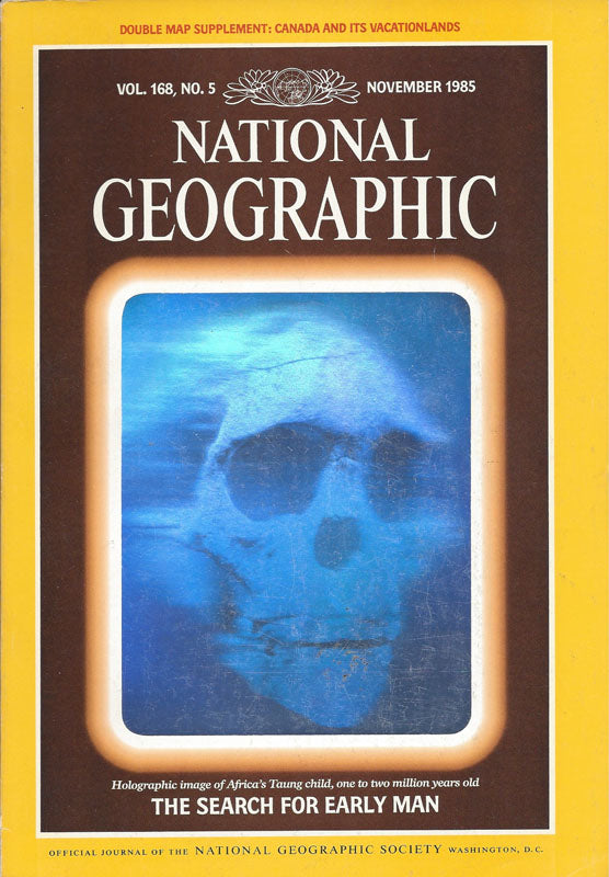 National Geographic: November 1985