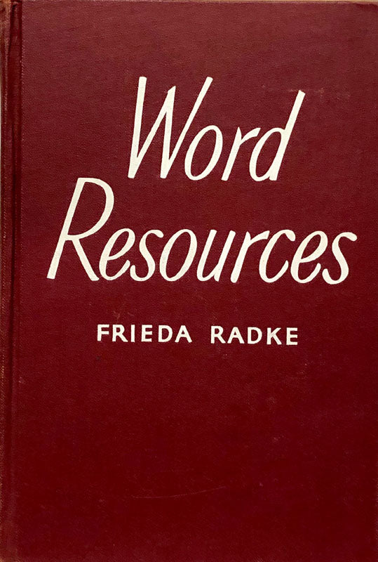 Word Resources