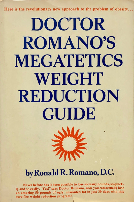 Doctor Romano's Megatetics Weight Reduction Guide