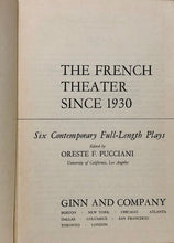 Load image into Gallery viewer, The French Theater Since 1930