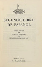 Load image into Gallery viewer, Segundo Libro De Espanol