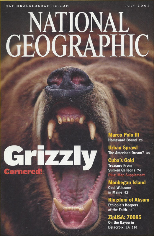 National Geographic: July 2001