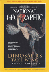 National Geographic: July 1998