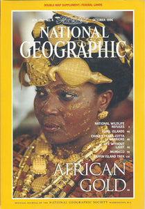 National Geographic October 1996