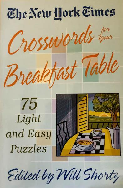The New York Times Crosswords for your Breakfast Table