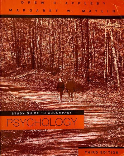 Study Guide to Accompany Margaret W. Matlin's Psychology