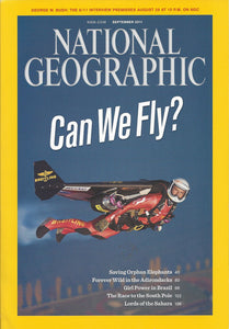 National Geographic: September 2011