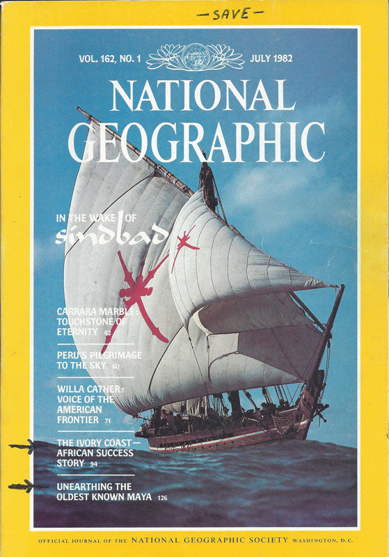 National Geographic:  July 1982