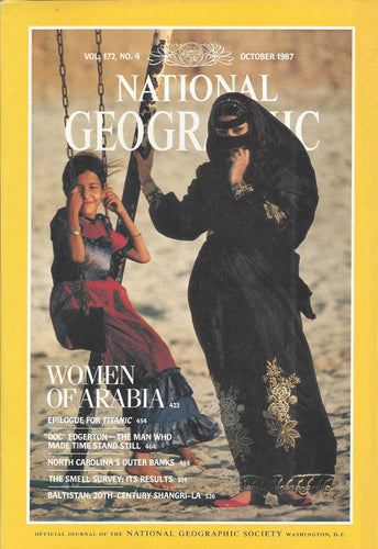 National Geographic: October 1987