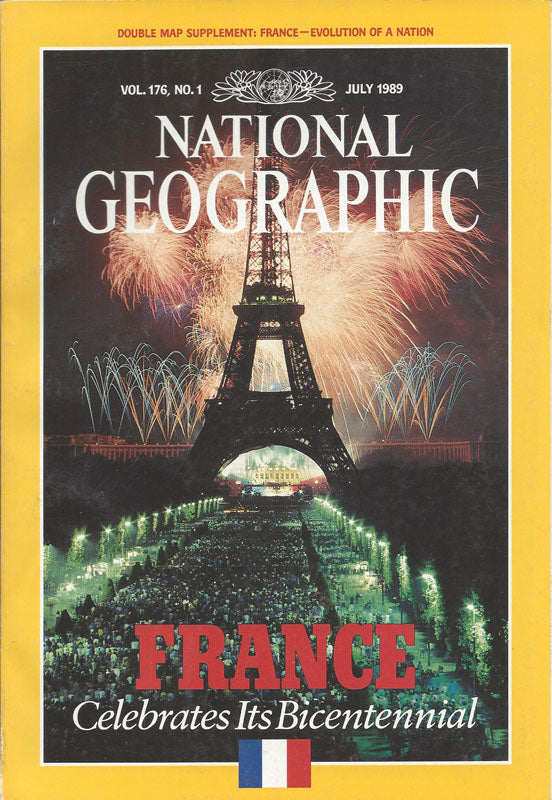 National Geographic:  July 1989