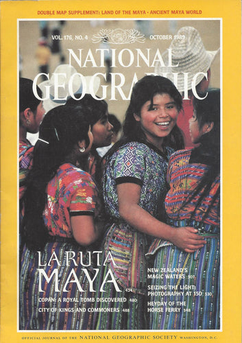 National Geographic: October 1989