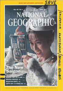 National Geographic:  April 1995