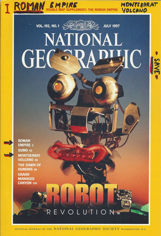 National Geographic: July 1997