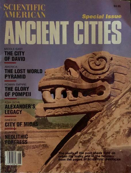 Scientific American Ancient Cities - Special Issue 1994, Vol. 5 No 1