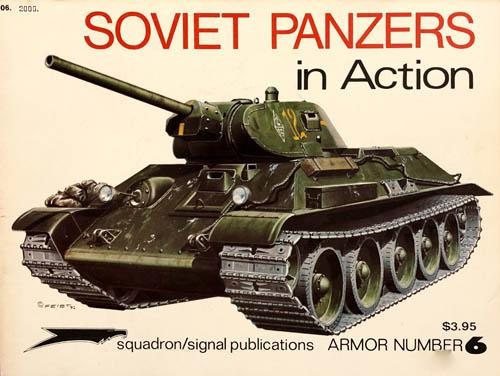 Soviet Panzers In Action, Armor Number 6