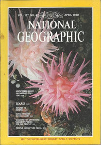 National Geographic: April 1980