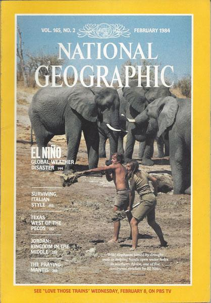 National Geographic: February 1984