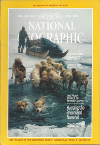 National Geographic: April 1984