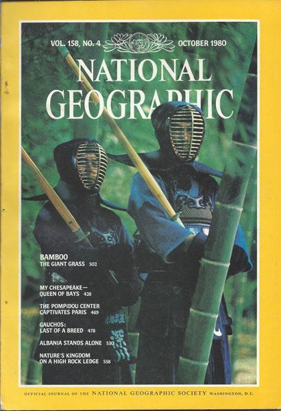 National Geographic: October 1980