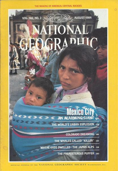 National Geographic: August 1984
