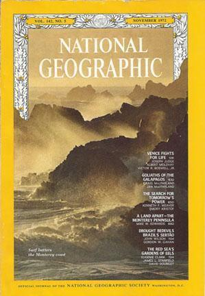 National Geographic: Novemberr 1972