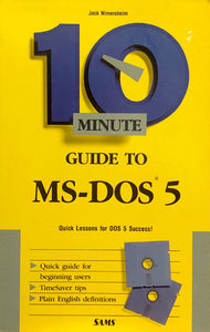 10 Minute Guide To MS-DOS 5