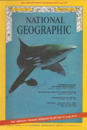National Geographic: Feb. 1968