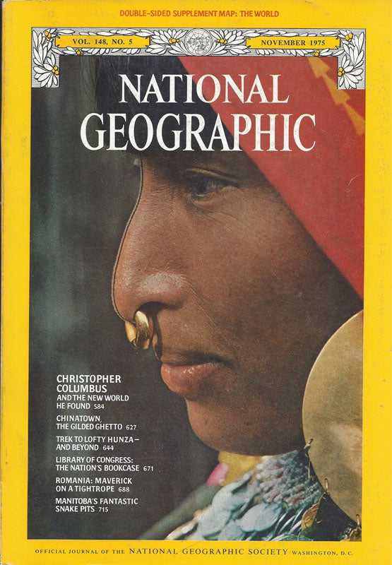 National Geographic: Nov. 1975