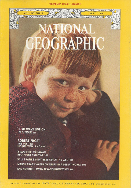 National Geographic: April 1976
