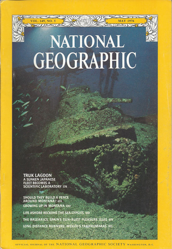 National Geographic: May 1976