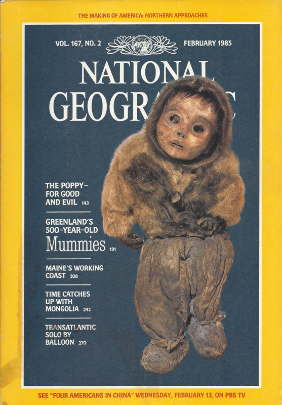 National Geographic: Feb. 1985