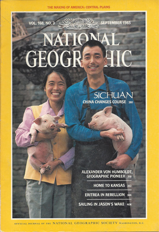 National Geographic: Sept. 1985
