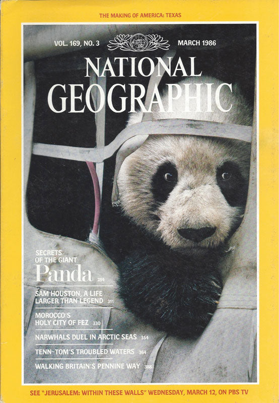 National Geographic: March 1986