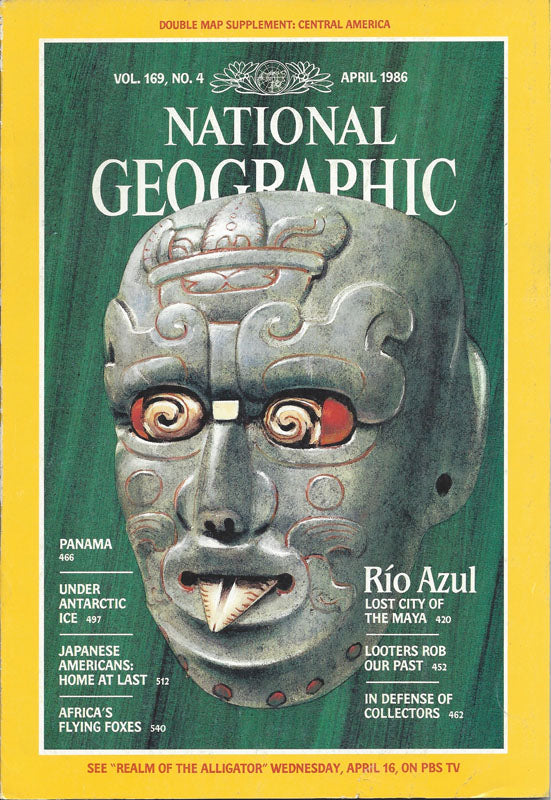 National Geographic: April 1986
