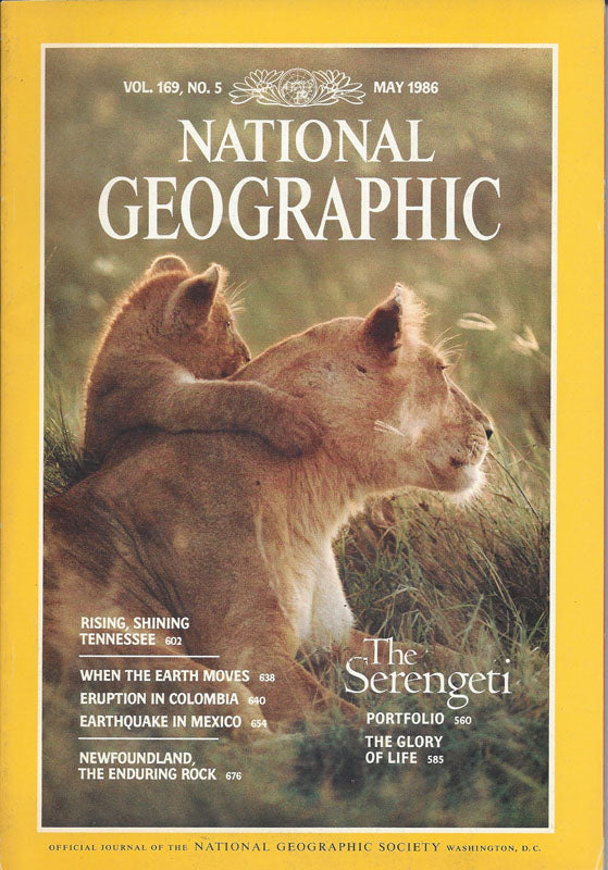 National Geographic: May 1986