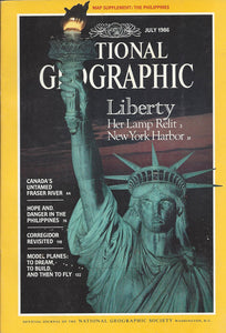 National Geographic: July 1986