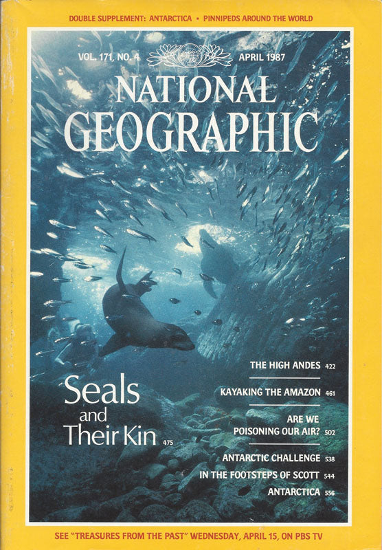 National Geographic: April 1987