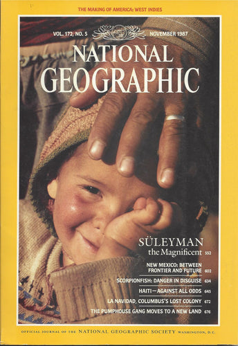 National Geographic: Nov. 1987