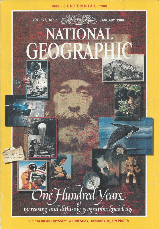 National Geographic: Jan. 1988