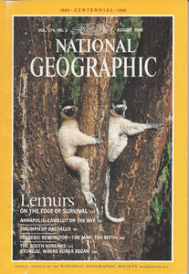 National Geographic: Aug. 1988