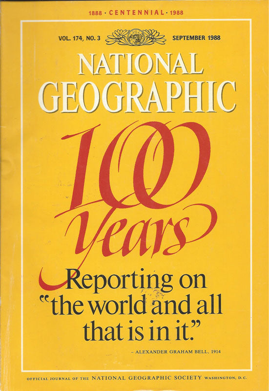 National Geographic: Sept. 1988