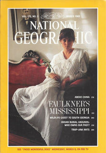 National Geographic: March 1989