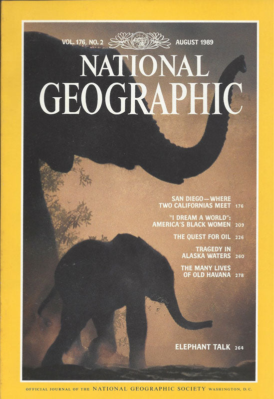 National Geographic: Aug. 1989
