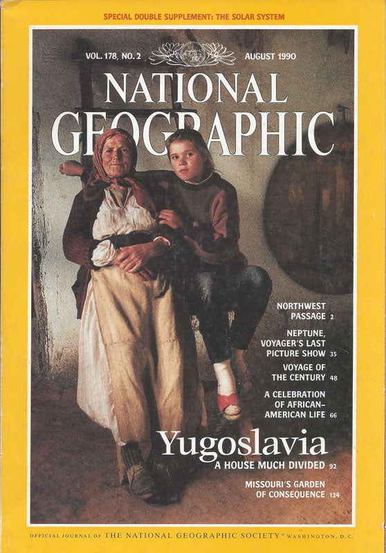 National Geographic: Aug. 1990