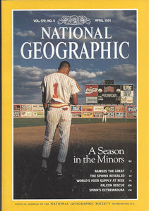 National Geographic: April 1991