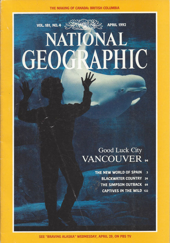 National Geographic: April 1992