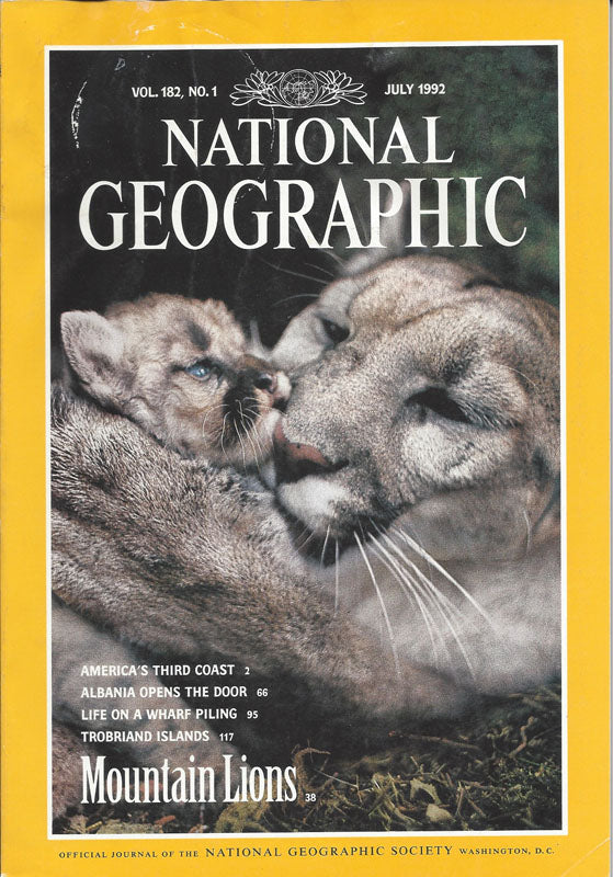 National Geographic: July 1992